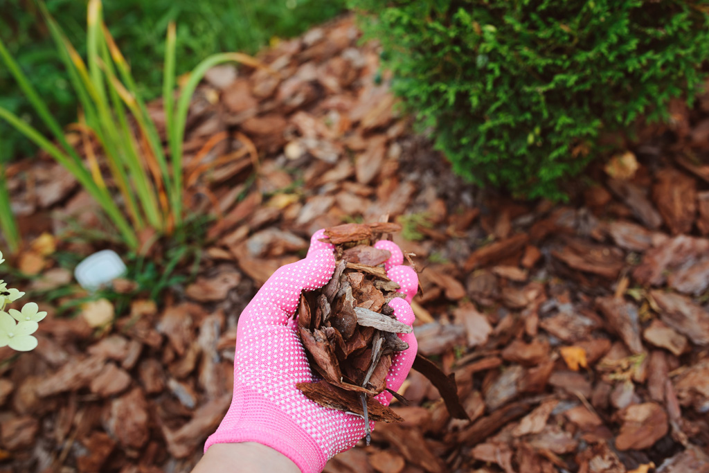 Use Mulch To Absorb Water H2oc Stormwater Program